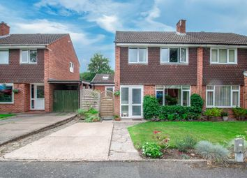 Thumbnail 3 bed semi-detached house for sale in Barford Close, Redditch