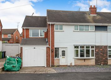 Thumbnail 4 bed semi-detached house for sale in Eagle Crescent, Eccleshall, Stafford