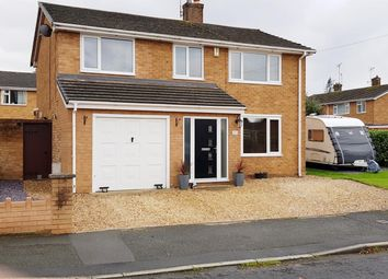 Thumbnail 4 bed detached house for sale in Richmond Road, Wrexham