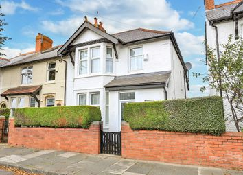 Thumbnail 4 bed end terrace house for sale in Cornerswell Road, Penarth