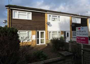 Thumbnail 2 bed end terrace house for sale in Corbett Road, North Walsham