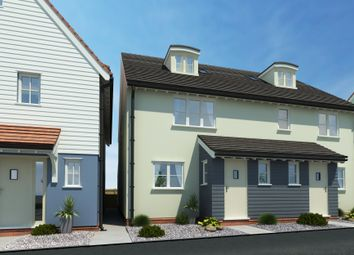 Thumbnail 3 bedroom semi-detached house for sale in Dunmow Road, Little Canfield, Dunmow