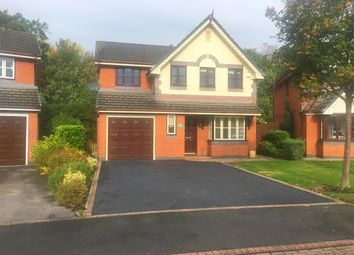 Thumbnail 4 bed detached house for sale in Mill Bridge Close, Crewe Green, Crewe