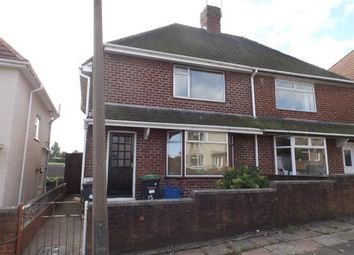Thumbnail 2 bed semi-detached house to rent in Addison Drive, Hucknall, Nottingham
