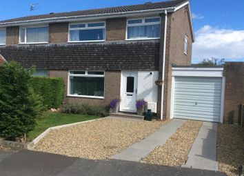 Thumbnail 3 bed semi-detached house for sale in Thorneyford Place, Ponteland, Newcastle Upon Tyne