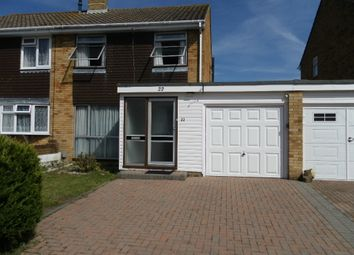 Thumbnail 3 bed semi-detached house for sale in Quintrel Avenue, Portchester