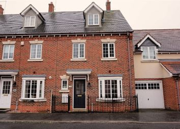 Thumbnail 4 bedroom terraced house for sale in Offord Close, Ipswich