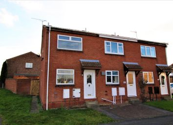 Thumbnail 2 bed semi-detached house for sale in Larwood Avenue, Worksop