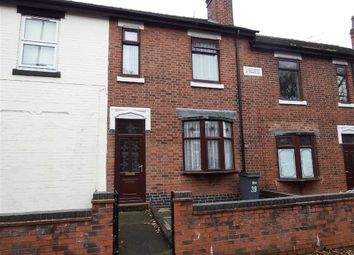 Thumbnail 3 bed terraced house to rent in Chaplin Road, Longton, Stoke-On-Trent