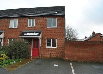 Thumbnail 3 bed end terrace house to rent in Prince William Close, Whitchurch, Shropshire