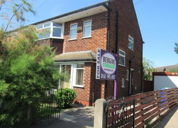 Thumbnail 3 bed semi-detached house for sale in Morrell Road, Manchester