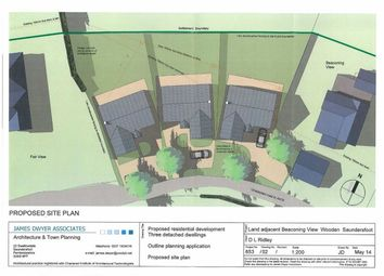 Thumbnail Land for sale in Building Plot 2, Adjoining Beaconing View, Saundersfoot, Dyfed