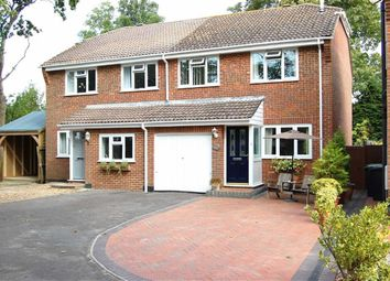 Thumbnail 3 bedroom semi-detached house for sale in The Coppice, Mudeford, Christchurch