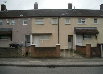 Thumbnail 3 bedroom terraced house to rent in Findon Road, Kirkby, Liverpool