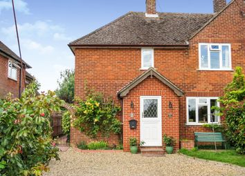 Thumbnail 3 bed semi-detached house for sale in Hinderclay Road, Wattisfield, Diss