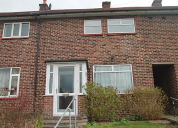 Thumbnail 2 bedroom terraced house to rent in Malmstone Avenue, Merstham, Redhill