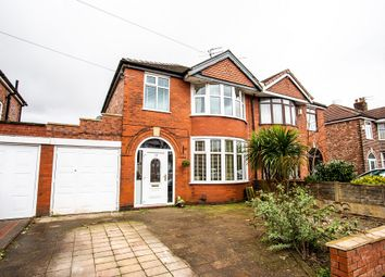 Thumbnail 3 bed semi-detached house for sale in Newstead Road, Urmston