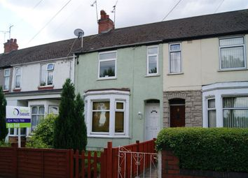 Thumbnail 3 bed terraced house to rent in Burnaby Road, Radford, Coventry