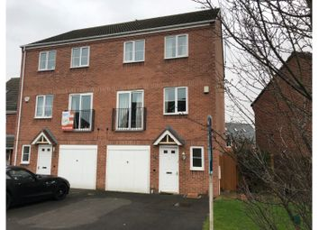Thumbnail 3 bed town house to rent in Gadwall Croft, Newcastle
