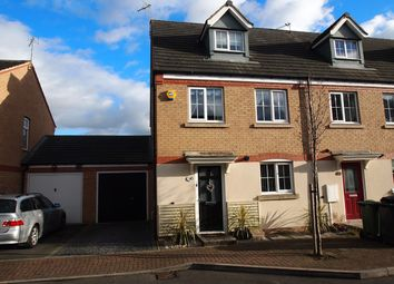 Thumbnail 3 bed town house for sale in Clover Way, Syston, Leicester
