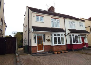 Thumbnail 4 bed semi-detached house to rent in South Drive, Warley, Brentwood