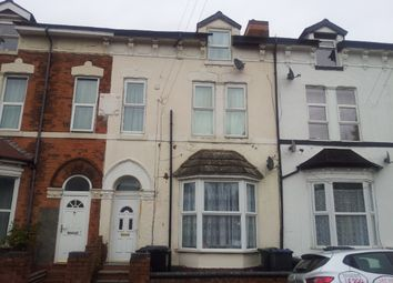Thumbnail 1 bedroom flat to rent in Fentham Road, Erdington