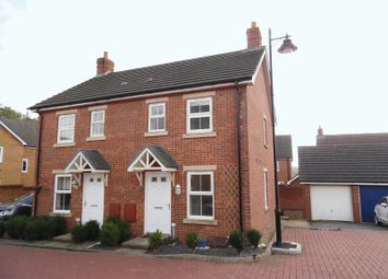 Thumbnail 2 bed semi-detached house to rent in Clos Glyndwr, Coity, Bridgend