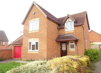 Thumbnail 4 bed detached house to rent in Braford Gardens, Shenley Brook End, Milton Keynes