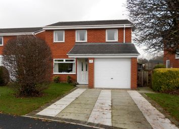 Thumbnail 3 bedroom detached house for sale in The Meadows, Gwersyllt, Wrexham