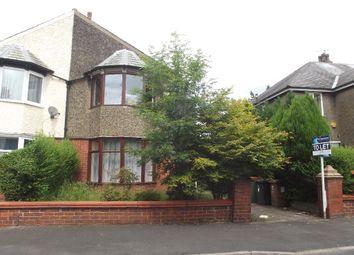 Thumbnail 3 bedroom semi-detached house to rent in Manor Avenue Manor Avenue, Preston