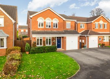 Thumbnail 4 bed detached house for sale in Kingfisher Close, Mickleover Country Park, Derby