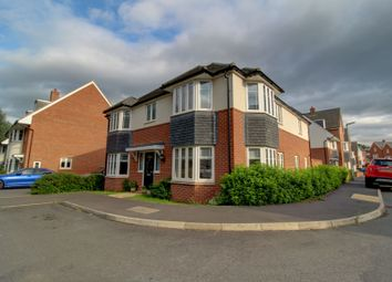 Thumbnail 4 bed detached house for sale in Leatherworks Way, Northampton