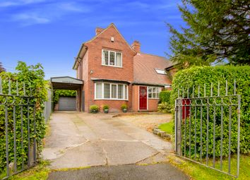 Thumbnail 3 bed semi-detached house for sale in Blyth Road, Ranby, Retford