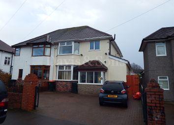 Thumbnail 3 bed property for sale in Burnfort Road, Off Bassaleg Road, Newport.