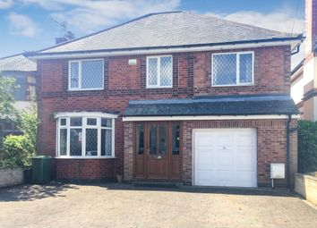 Thumbnail 4 bed detached house for sale in Southfields Avenue, Oadby, Leicester