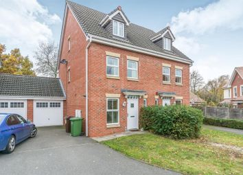 Thumbnail 3 bedroom semi-detached house for sale in Tudor Coppice, Solihull