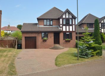 Thumbnail 4 bed detached house for sale in Moat Close, Orpington