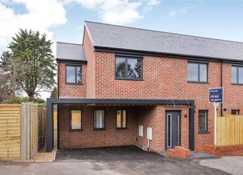Thumbnail 3 bed semi-detached house for sale in Winnall Manor Road, Winchester, Hampshire