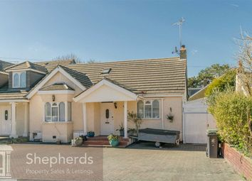 Thumbnail 3 bed semi-detached bungalow for sale in Old Nazeing Road, Broxbourne, Hertfordshire