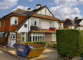 Thumbnail 4 bed semi-detached house for sale in Chadacre Road, Stoneleigh, Surrey