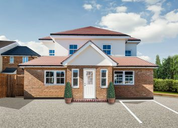 Thumbnail 3 bed flat for sale in Cox Lane, West Ewell, Epsom