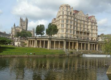Thumbnail 2 bed flat for sale in Grand Parade, Bath