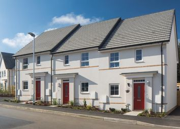 "Thumbnail 3 bedroom end terrace house for sale in ""Barwick"" at Kergilliack Road, Falmouth"