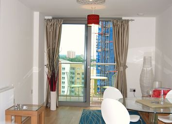 Thumbnail 1 bed flat to rent in Torre Vista, 45 Loampit Vale, Lewisham, London