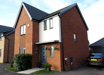Thumbnail 3 bed detached house for sale in Coriander Drive, Hampton Vale, Peterborough