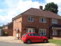 Thumbnail 3 bed semi-detached house to rent in Black Boy Wood, Bricket Wood
