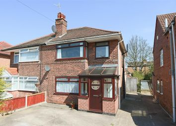 Thumbnail 3 bed semi-detached house for sale in Heatherley Drive, Basford, Nottingham