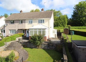 Thumbnail 3 bed semi-detached house for sale in Cradoc, Brecon