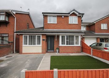 Thumbnail 4 bed detached house for sale in Conroy Way, Newton-Le-Willows
