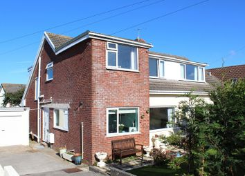 Thumbnail Semi-detached house for sale in Rushwind Close, West Cross, Swansea